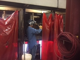 Crossett High School Student Welder