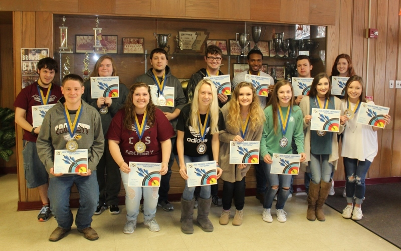 CHS Archery Team Earns 2nd Place