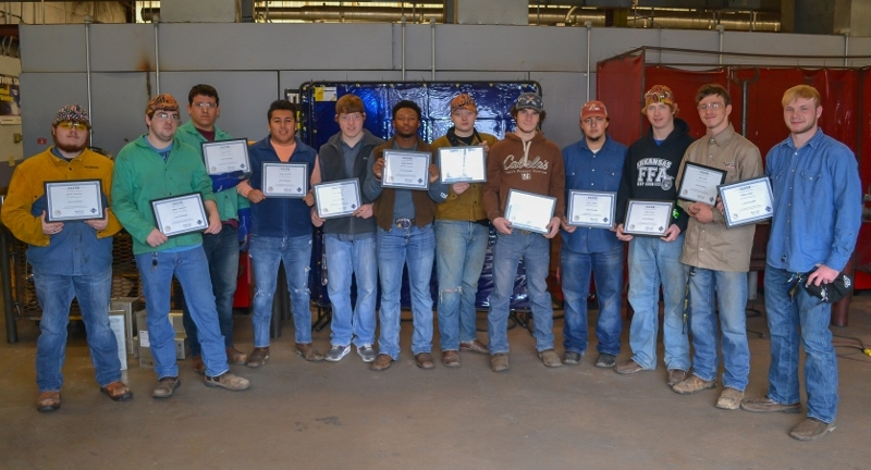 Welding Students Earn NCCER Certification