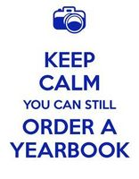 Yearbooks STILL on sale.