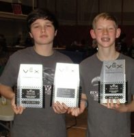 8th Grade Robotics Team Brings Home 3 Trophies