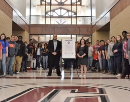 CHS Signs Commitment to Education