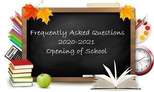 20-21 Opening of School Information