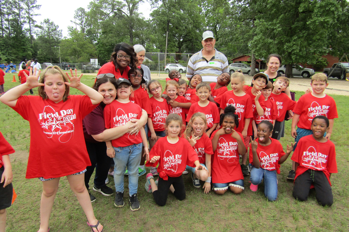 CES Field Day -Avery's class