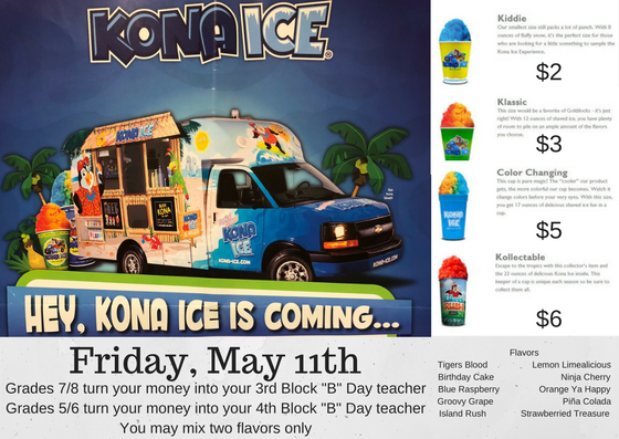 Kona Ice May 11