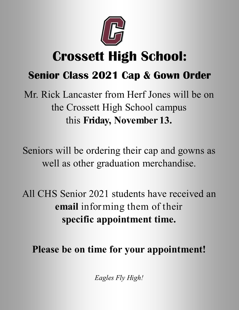 Cap and Gown Order