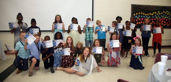 FUN time at 4th Grade Awards