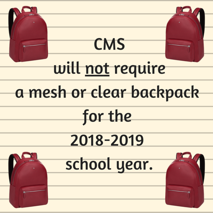 CMS Backpacks