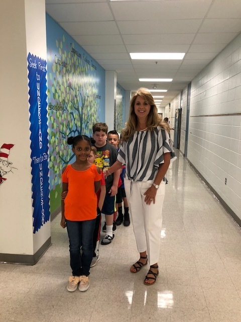 Practice walking in halls -2nd grade