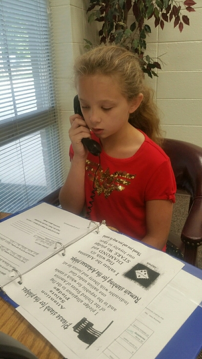 CES Morning Announcements Emily Blankenship
