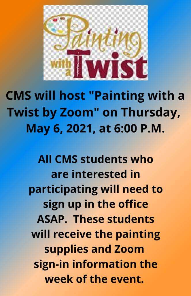CMS Painting with a Twist