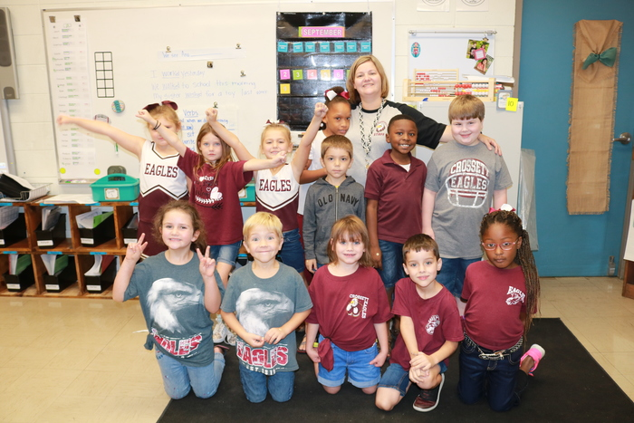 Harrington's 1st grade Eagles