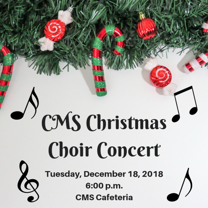 CMS Christmas Choir Concert