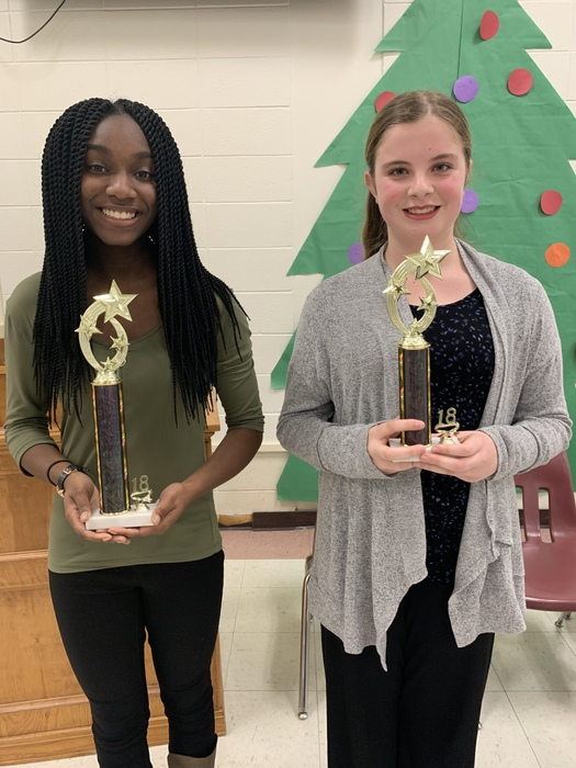 CMS Spelling Bee Winners