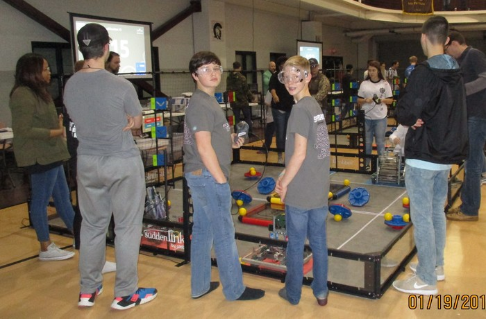 UALR Winter Tourney for Middle School VRC Robotics Jan. 19, 2019.