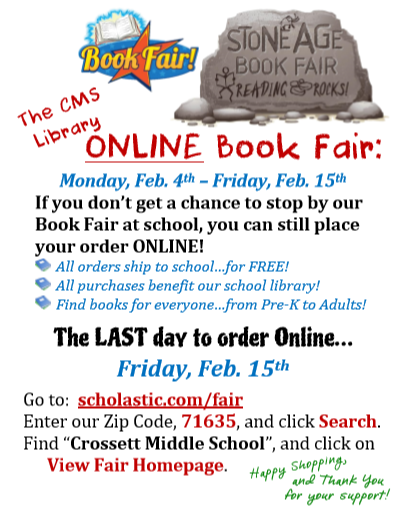 CMS Book Fair Information