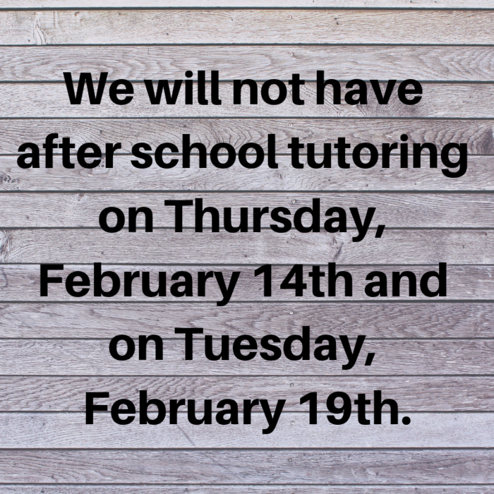 No Tutoring