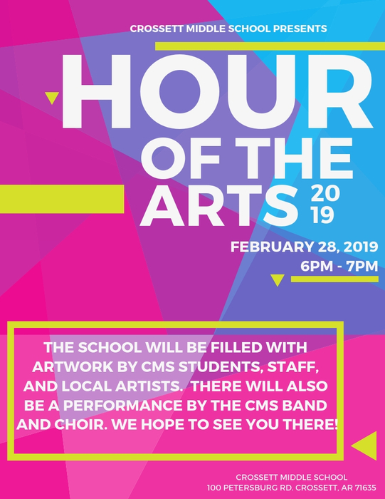 CMS Hour of Arts