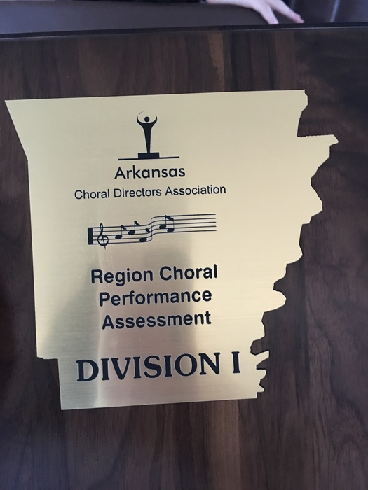 CMS Choir receives all 1s