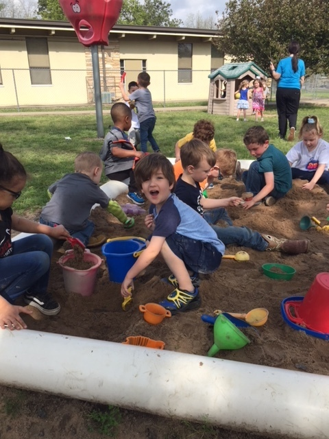 Digging for dinosaur bones!