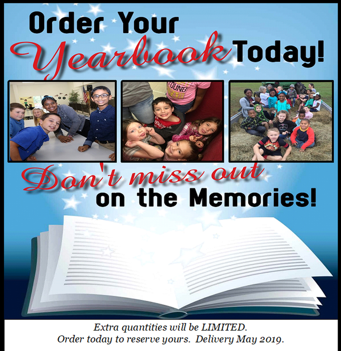 Order today -extras limited!!