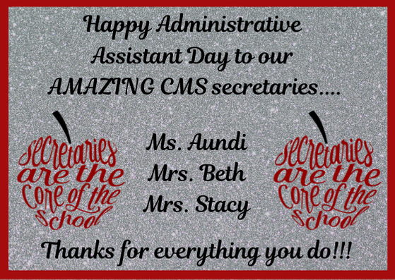 Administrative Assistant Day!!
