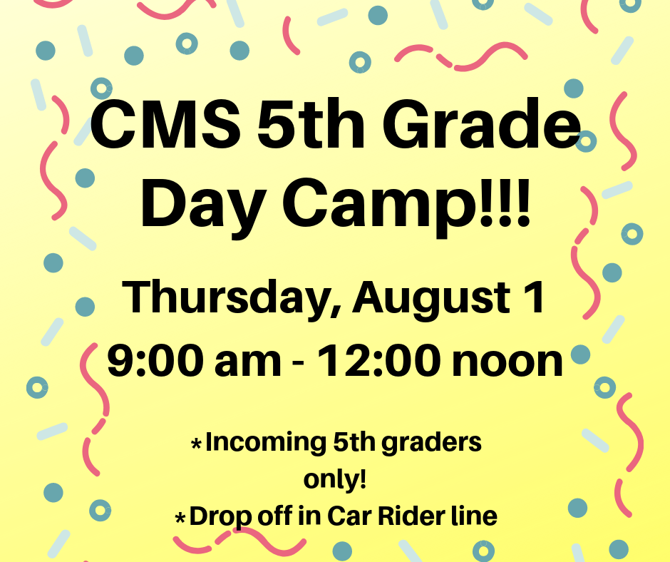 5th Grade Day Camp