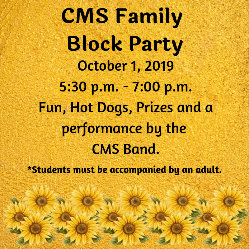 CMS Family Block Party