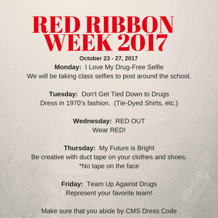 Red Ribbon Week 2017
