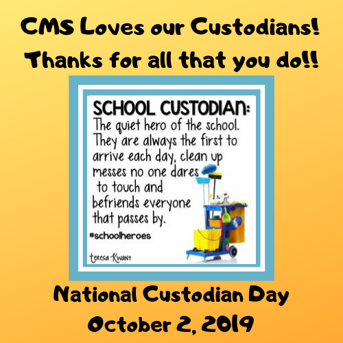 Happy National Custodian Day