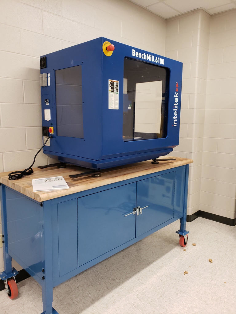 BenchMill 6100 CNC Machine at CHS!
