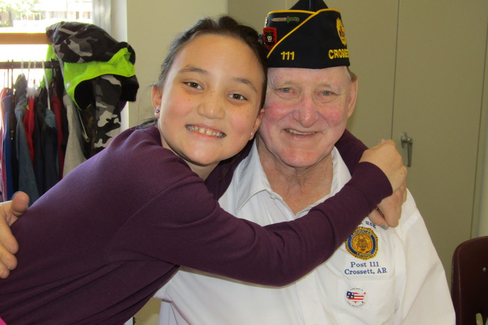 Veterans Day Lunch at CES
