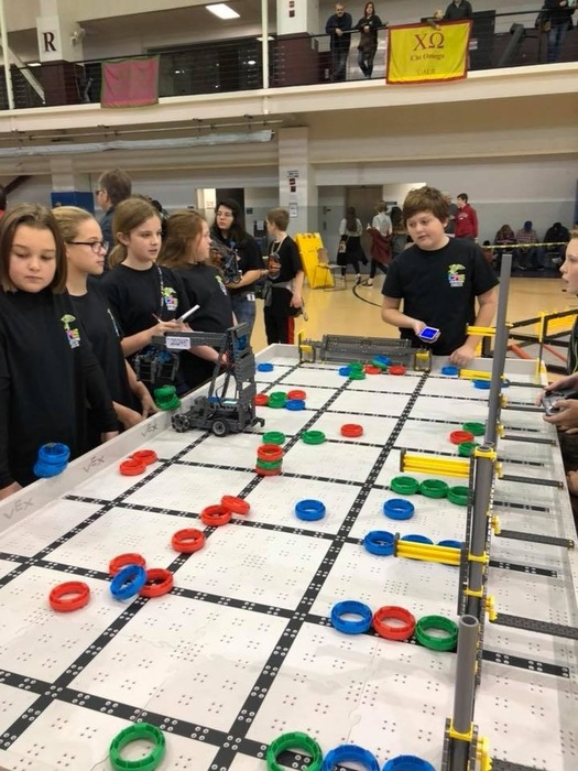 CMS Robotics Competition 12-2-17 1st Place