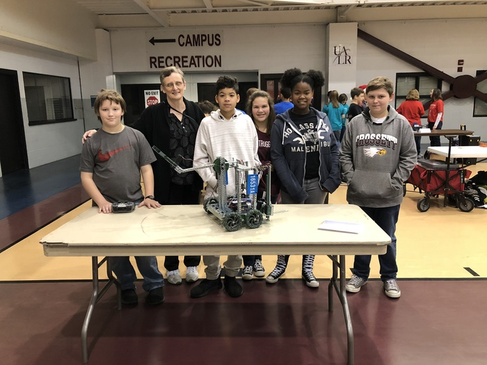 CMS Robotics Competition 12-2-17 2nd Place