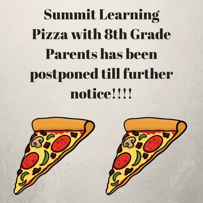 Summit Pizza Postponed