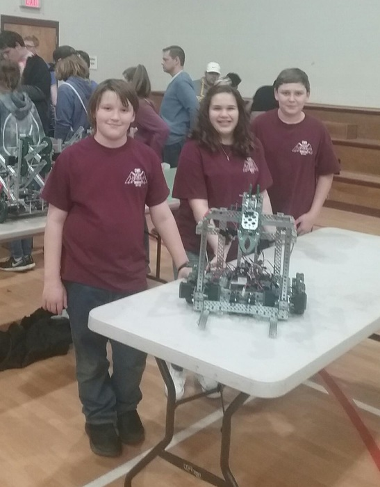 CMS 8th Grade Robotics Team