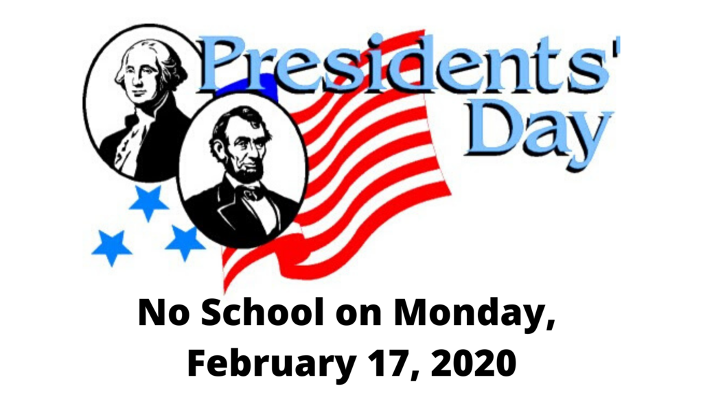 No School February 17th