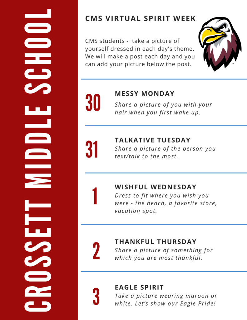 CMS Virtual Spirit Week