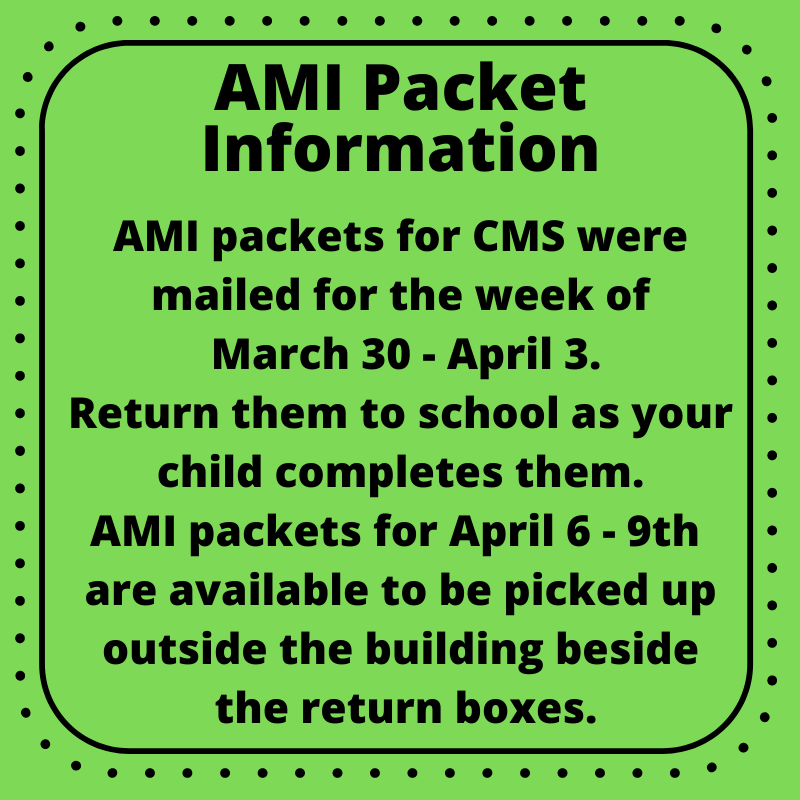 AMI Packets April 6 - 9