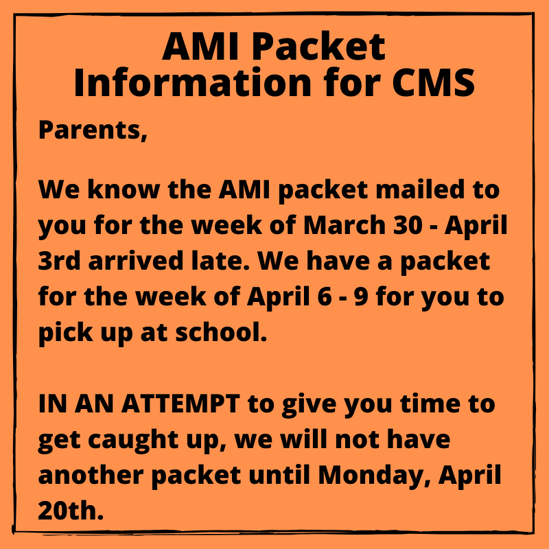 CMS AMI Packet Update